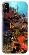 A Colorful Reef Scene With Sunburst IPhone Case