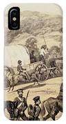 A Convoy Of Wagons IPhone Case