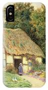 A Cottage By A Duck Pond IPhone Case