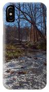 A Creek Runs Though It IPhone Case