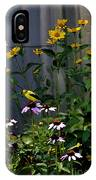 A Cute Couple Of Yellow Finches IPhone Case