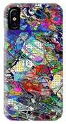 A Dash Of Abstract Imagery IPhone Case