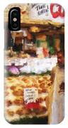 A Day At The Fish Market IPhone Case