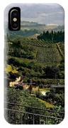 A Day In Tuscany IPhone Case