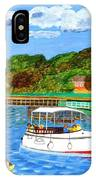 A Day On The River In Exeter IPhone Case