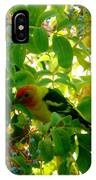 A Day With Mr. Tanager 7 IPhone Case
