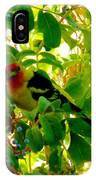 A Day With Mr. Tanager 8 IPhone Case