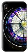 A Dazzling Stained Glass Gem Emerging From The Darkness IPhone Case