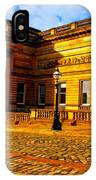 A Digitally Converted Painting Of The Walker Art Gallery In Liverpool Uk IPhone Case