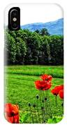 A Distant Mount Ascutney IPhone Case