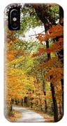 A Drive Through The Woods IPhone Case