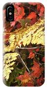 A Fall Day In New Hampshire IPhone Case