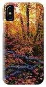 A Fall Forest  IPhone Case