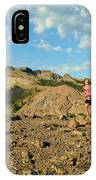 A Family Enjoys The Views IPhone Case