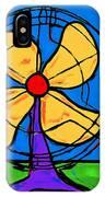 A Fan Of Color IPhone Case