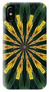 A Fanfare Of Flowers IPhone Case