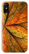 A Feeling Of Autumn IPhone Case