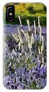 A Field Of Lavender IPhone Case