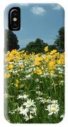 A Field Of Spring IPhone Case