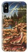 A Fishing Scene IPhone X Case
