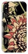A Floral View IPhone Case