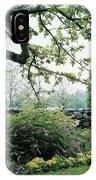 A Flower Bed In Mrs. Frank Audibert's Garden IPhone Case