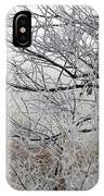A Foggy Frosty December Morning IPhone Case