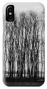A Forest Of Trees IPhone Case