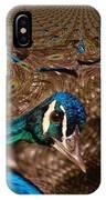 A Fractual Peacock  IPhone Case