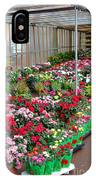 A French Flower Market IPhone Case