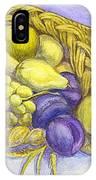 A Fruitful Horn Of Plenty IPhone Case