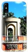 A Garden Balcony At Vizcaya IPhone Case