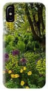 A Garden Of Color IPhone Case