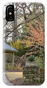 A Garden Walk In February IPhone Case