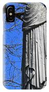 A General's Draped Monument IPhone Case