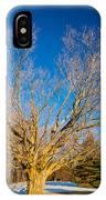 A Giant Sleeps IPhone Case