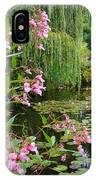 A Glimpse Of Monet's Pond At Giverny IPhone Case