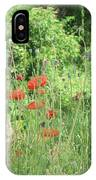 A Glimpse Of Poppies IPhone Case