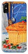 A Gourmet Cover Of Pate En Croute IPhone X Case