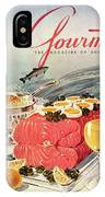 A Gourmet Cover Of Poached Salmon IPhone X Case