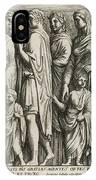 A Group Of Roman Citizens IPhone Case