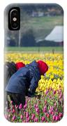 A Hard Day's Work IPhone Case