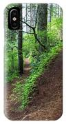 A Hiking Trail Goes Up Saddle Mountain IPhone Case
