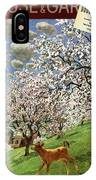 A House And Garden Cover Of A Calf IPhone Case