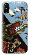 A House And Garden Cover Of People Moving House IPhone Case