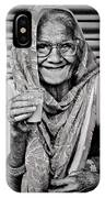 A Lady And Her Chai IIi IPhone Case