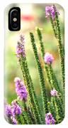 A Lavender Garden IPhone Case