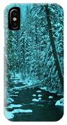 A Leaning Tree Over The Little Naches River IPhone Case
