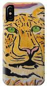 A Leopard's Gaze IPhone Case