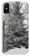 A Light Snow IPhone Case